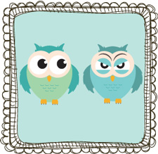 Troubled Relationship Trio Psychology Owls